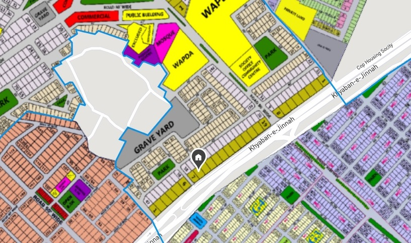 Plot For Sale In Wapda Town Phase 2 – Block M, Phase 2, Located on 150 Ft Road Lahore, Punjab